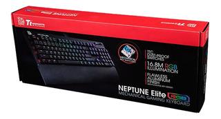 Teclado Gamer Tt Esports Neptune Elite Negro Rgb Thermaltake