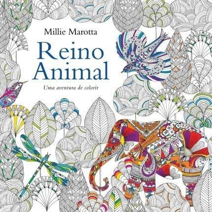 Livro Para Colorir Reino Animal + Lápis 24 Cores Faber