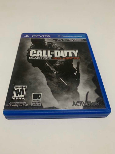 Call Of Duty Black Ops Declassifield Ps Vita Jogo Original