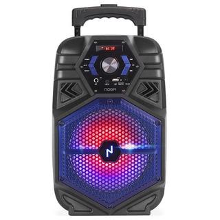 Parlante Portátil Bluetooth Noga Bt850 Karaoke Led Rgb