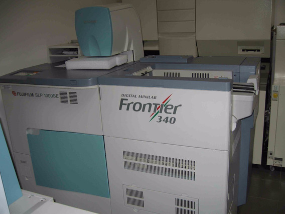 Impressora Minilab Química Frontier 340 Fujifilm