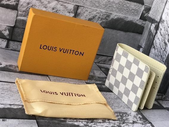 Billetera Louis Vuitton Blanca Damier Envio Gratis