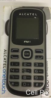 Celular Alcatel Ot 228 - Dual Chip, Fm, Mp3 - Usado
