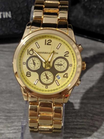Relógio Feminino Hannah Martin 1038 Frete Grátis