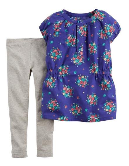 Conjuntos Carters Bebe Niña Blusa Y Pantalón