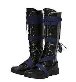 Hot Movie Doctor Cosplay Strange Shoes Botas Negras De La