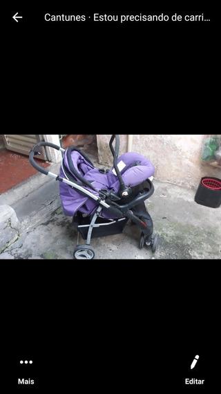 Carrinho De Bebê E Bebê Conforto Para Menino E Menina.