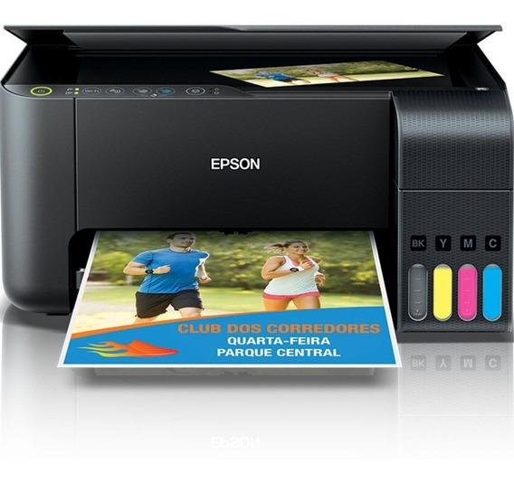 Impressora Multifuncional Epson Tanque Tinta L3150 Wifi Eco