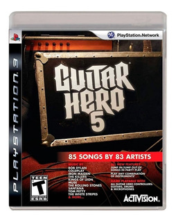 .: Guitar Hero 5 Ps3 Seminuevo :. En Bsg