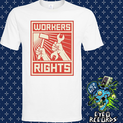 Imagen 1 de 3 de Urss - Workers Rights - Otros - Polera- Cyco Records