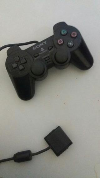 Controle De Playstation 2 Sony Usado.