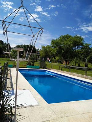 Casa De Campo Con Pileta Y Jacuzzi