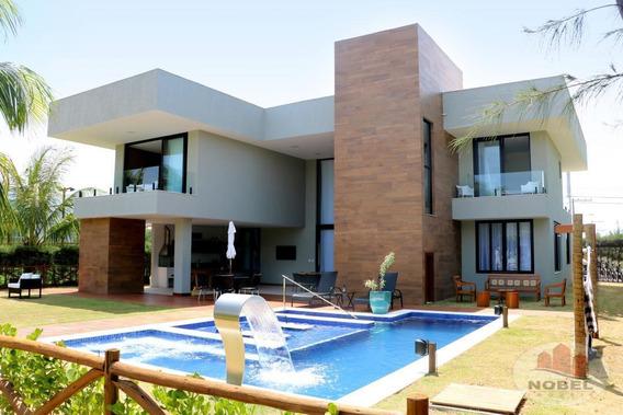 Casa Em Condomínio Com 8 Dormitório(s) Localizado(a) No Bairro Guarajuba (monte Gordo) Em Camaçari / Camaçari - 5801
