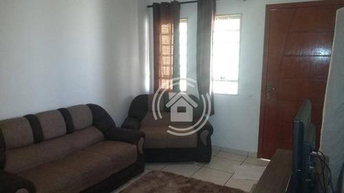 Casa Com 2 Dormitórios À Venda, 90 M² Por R$ 219.999,99 - Terra Rica - Piracicaba/sp - Ca0516