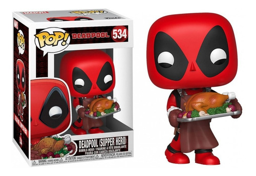 Deadpool Supper Hero 534 - Funko Pop Original Nuevo