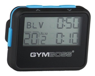 Temporizador De Intervalos Y Cronómetro Gymboss Blackblue So