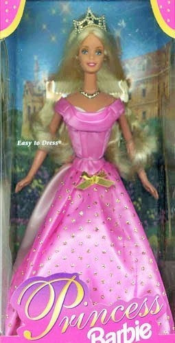 Imagen 1 de 2 de Princesa Barbie Rubia Por Mattel