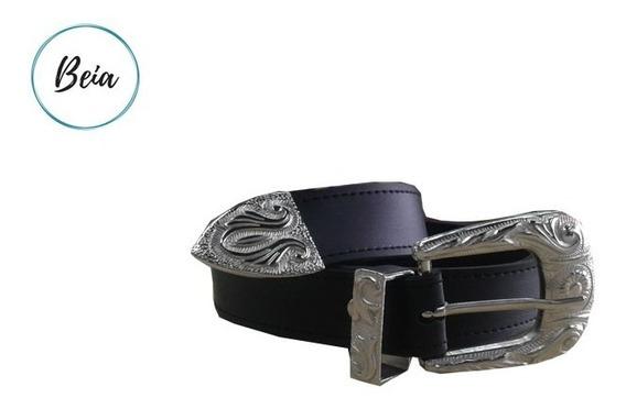 Cinturon Hebilla Texana Mujer Todas Las Medidas!