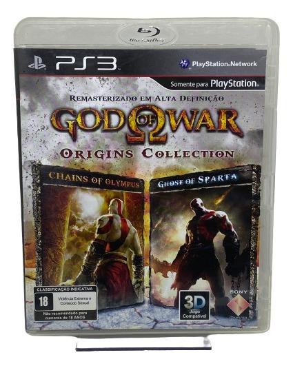 Jogo God Of War Origins Collection - Ps3 Midia Fisica