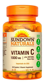 Vitamina C Sundown Naturals 1000mg X 60 Capsulas