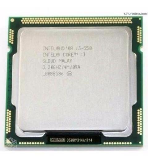 Processador I3 - 550 3.20ghz/4m/09a - Socket 1156