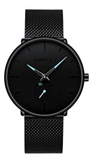 Mens Watch Ultra Thin Wrist Watches For Men Fashion Waterpr