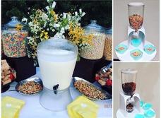 Dispensador De Cereal Para Tus Eventos