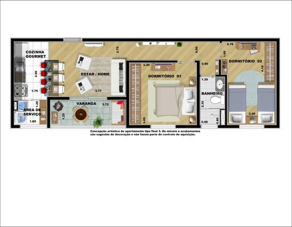 Promocional 59m² 2 Dorms 1 Vg Baeta Neves São Bernardo Campo