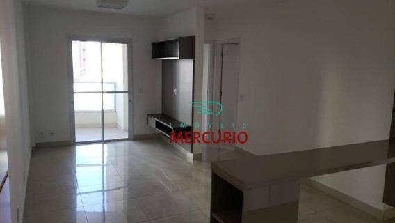 Apartamento Com 2 Dormitórios Para Alugar, 65 M² Por R$ 1.650/mês - Vila Nova Cidade Universitária - Bauru/sp - Ap3342