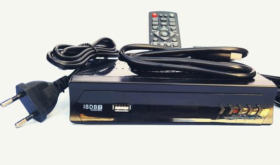 Conversor Digital De Tv Top Box Sinal Isdb-t Usb