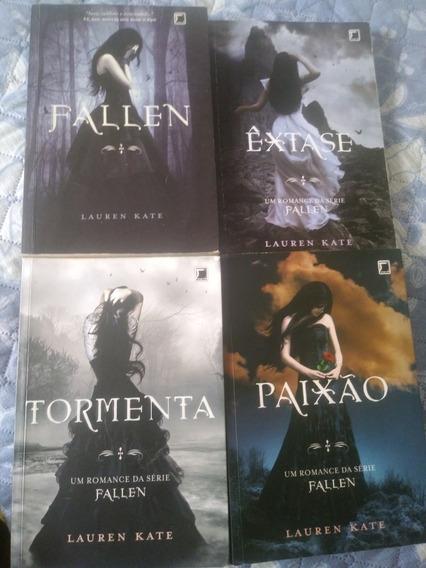 Coleção Livros Fallen - 4 Livros