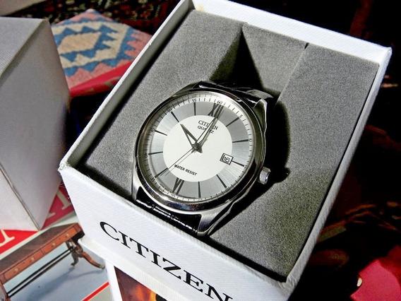 Relógio Citizen Masculino Inox 33mm Como Novo