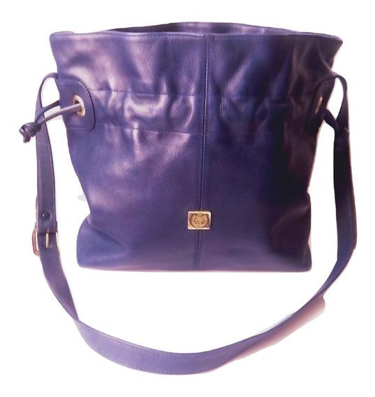 Bolsa Piel Liz Claiborne, Usado Bolso Claiborne Cuero $790a