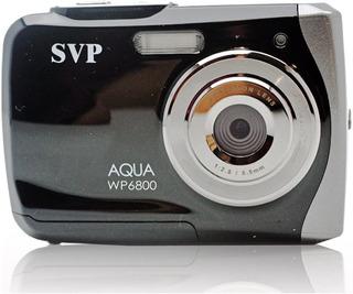 Camara Digital Svp 18 Mp Negro Wp6800 2.4 Lcd Sumergible