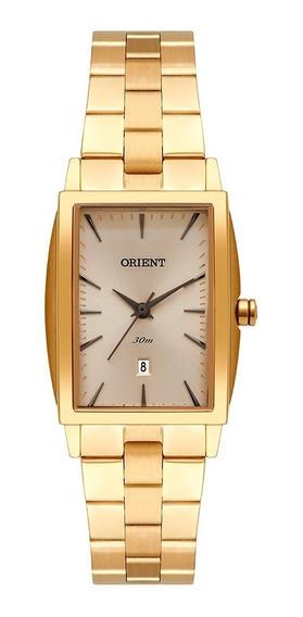 Relógio De Pulso Feminino Orient Quadrado Lgss1015