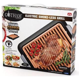 Gotham Grill Asador Electrico Parilla Electrica Smokeless