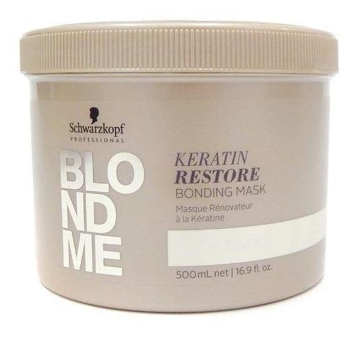 Schwarzkopf Blondme Mascara Reparadora Cabellos Rubios 500ml