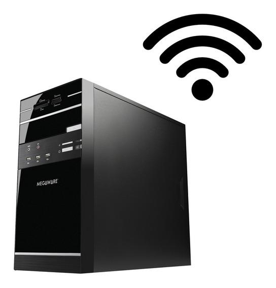 Pc/ Desktop Celeron J1800/ 4gb/ Ssd + Hd 500gb - Brindes