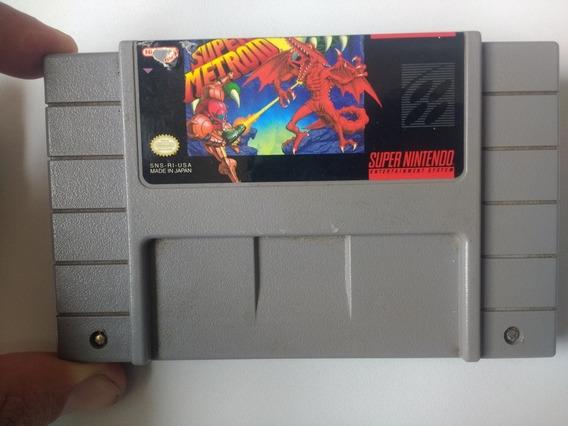 Super Metroid Original Super Nintendo