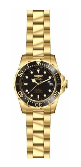 Relógio Invicta Pro Diver 8929ob Automático Banhado A Ouro