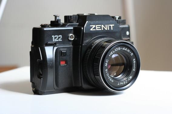 Câmera Zenith 122 Com Lente Helios. No Estado. Leia Tudo