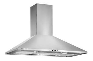 Campana Cocina Spar Prima 90 Cm Botón Deslizante Acero 5931-403