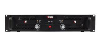 Amplificador De Potencia Novik Novo 500 Stereo 500w