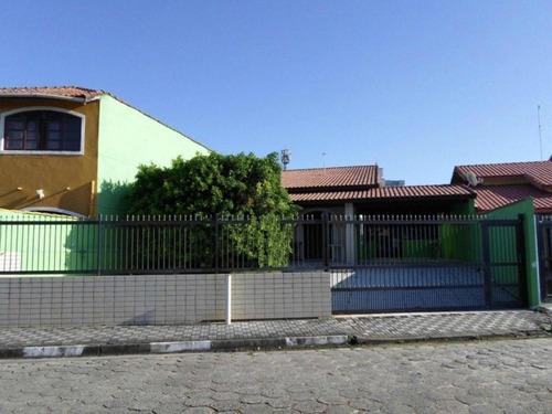 Casa Residencial À Venda, Dinópolis, Mongaguá - Ca0422. - Ca0422 - 33485705
