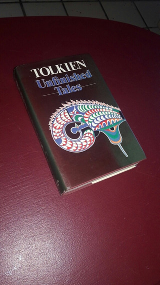 [raro] Unfinished Tales Tolkien Primeira Edição Inglêsa 1980