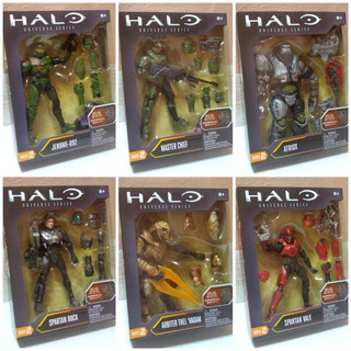 Halo Universe Series Wave 2 Master Chief Baf Imperial Grunt