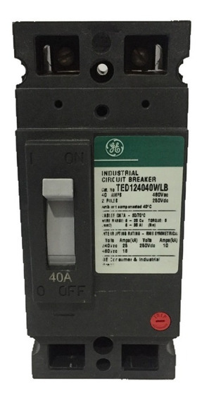 Breaker Ted 2x40 General Electric Ted124040wlb