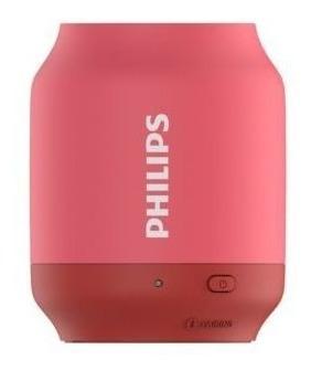 Parlante Bluetooth Philips Upbeat Bt51p/00 Rosado