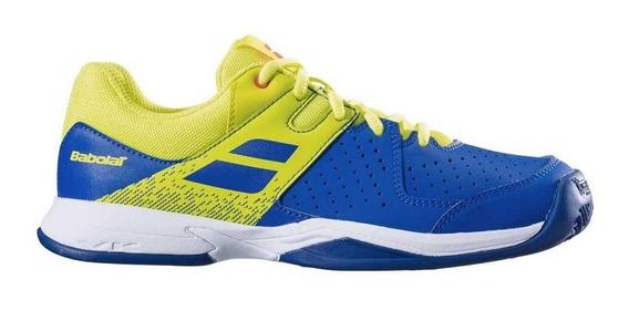 Zapatos Para Jugar Tenis Niño Junior Babolat Pulsion Clay