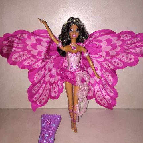 Muñeca Barbie Hada Fairytopia Edición Afro Americana 2006